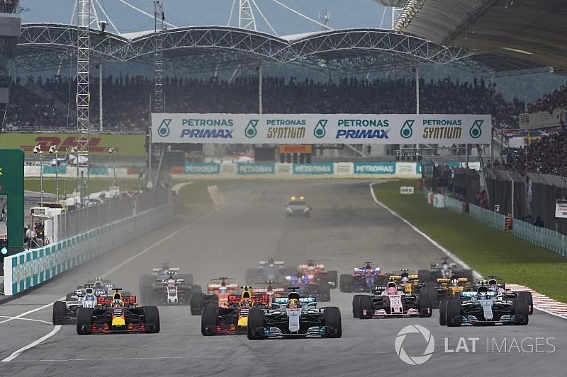 FIA、スタート前にグリッドを乾かす行為を禁止に。前戦で問題視