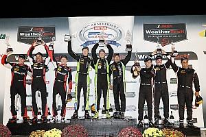 IMSA Reporte de la carrera Nissan triunfa y podio para Juan Pablo Montoya en Petit Le Mans