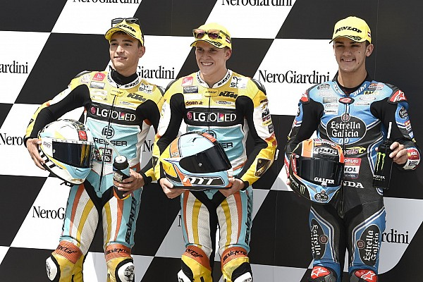 Segunda pole consecutiva de Gabriel Rodrigo en Moto3