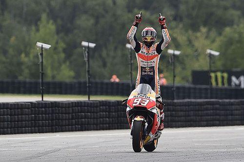 Marquez è ad una sola vittoria da Valentino in sella alla Honda