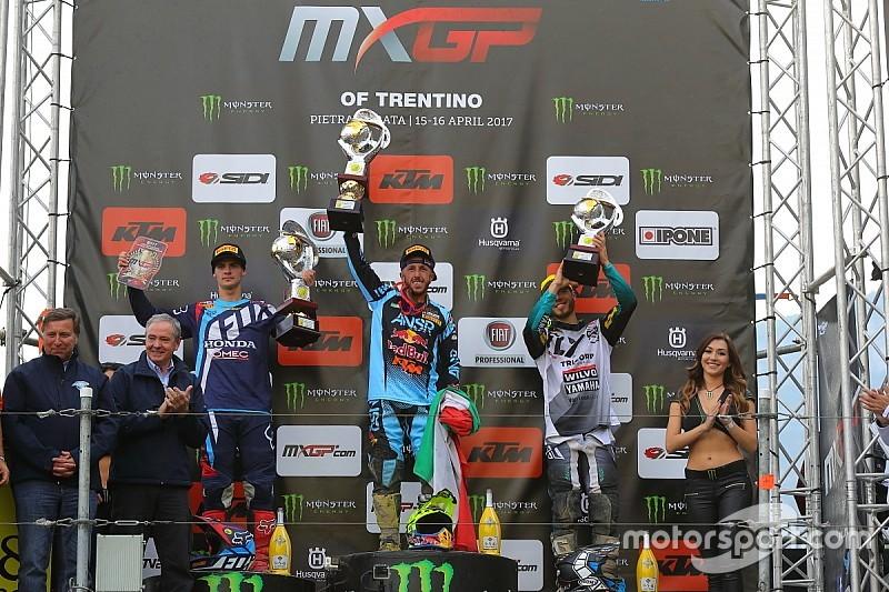 Cairoli y Prado reinan en el GP de Trentino de MXGP