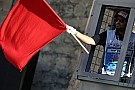 Lausitzring, Libere 2: bandiera rossa e diluvio. Risale Melandri