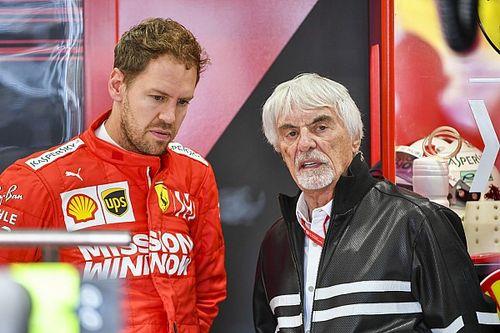 Ecclestone pomógł Vettelowi