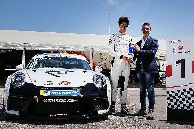 Carrera Cup Italia, Rovera-pole a Misano: