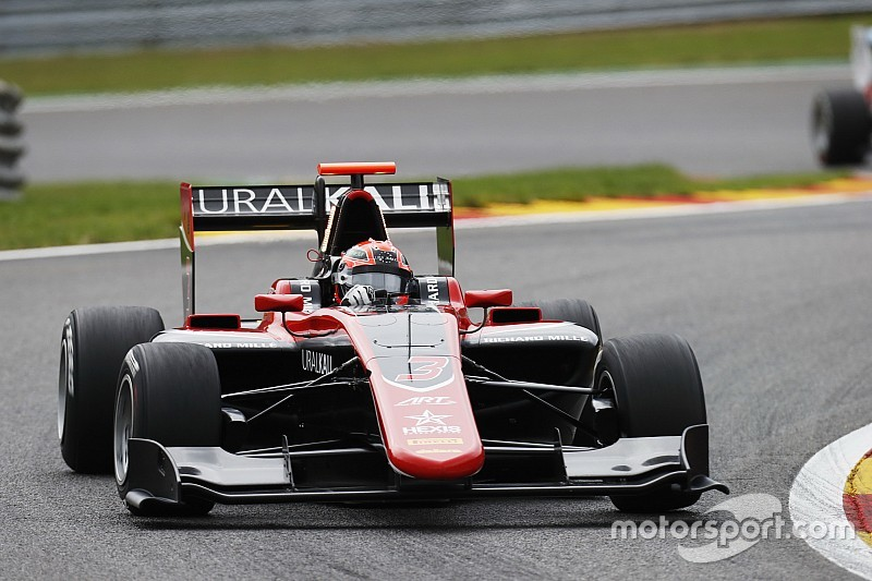 Spa GP3: Mazepin wins in ART 1-2-3-4