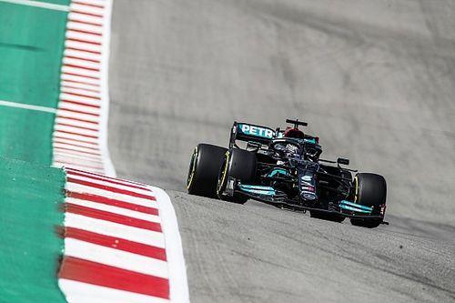 """Hamilton: """"Lo di todo pero Red Bull fue más rápido por alguna razón"""""""