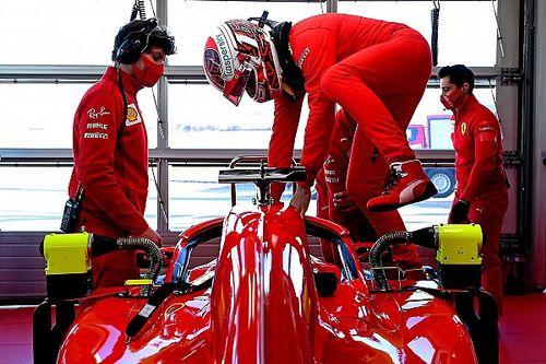 Tes Ferrari: Pulih dari Covid-19, Leclerc Kebut Mobil F1