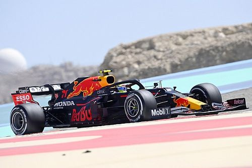 Perez leads final morning of F1 test for Red Bull
