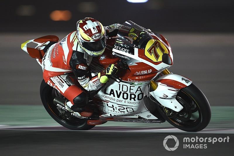 Fotostrecke: der Schweizer Aegerter, Lüthi und Forward Racing im Moto2-Test in Katar