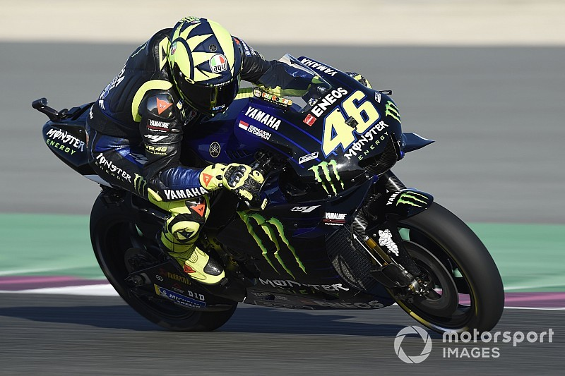 FP1 MotoGP Qatar: Rossi ungguli Lorenzo-Marquez