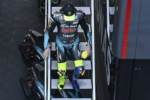 Schwantz: para Rossi es duro ver que no puede pelear por podios