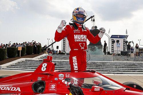Эрикссон впервые победил в IndyCar, Розенквист попал в больницу