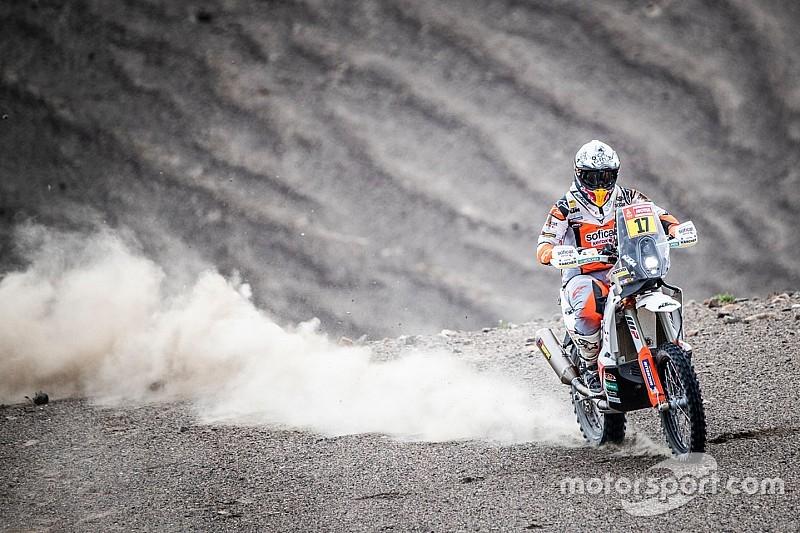 Laia Sanz ya se gusta y se cuela en el top 20 del Dakar