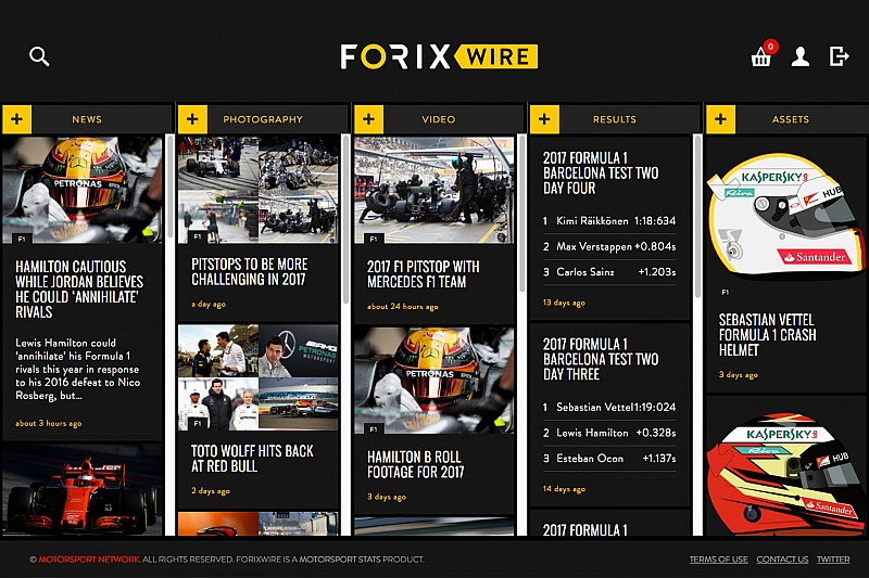 Motorsport Stats lance le service ForixWire