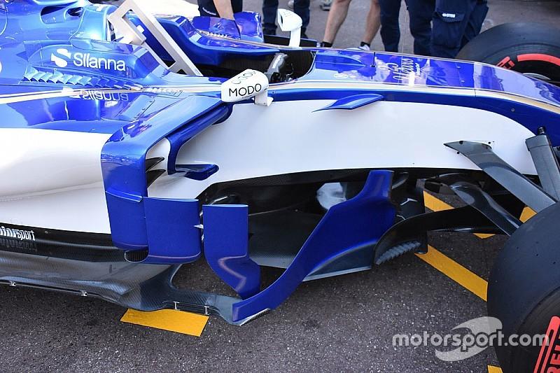 Formel-1-Technik: Sauber und die aggressiven Updates in Monaco