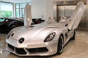 Auto Actualités À vendre: une très rare Mercedes SLR Stirling Moss