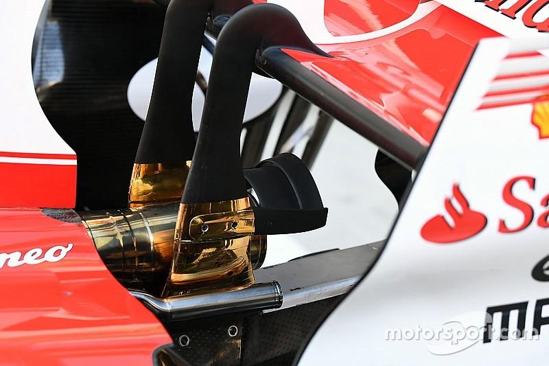 La Ferrari di Vettel e le due Mercedes montano il secondo motore!