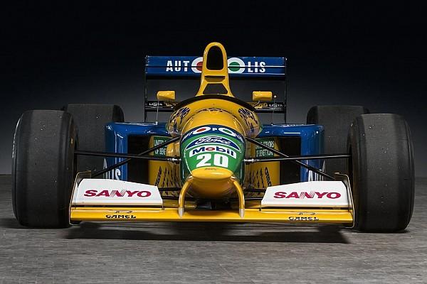 Automotive Nieuws Te koop: Eerste Benetton F1-wagen van Michael Schumacher