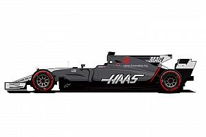 Formel 1 News Formel 1 2017: Neues Farbdesign für Haas F1 Team