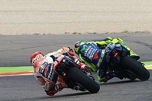 MotoGP Top List GALERI: Aksi pembalap MotoGP Aragon pada Jumat