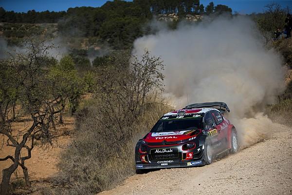 WRC Rennbericht WRC Rallye Spanien: Befreiungsschlag von Citroen und Kris Meeke