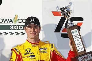 IndyCar Réactions Enfin un bon résultat pour Hunter-Reay, troisième