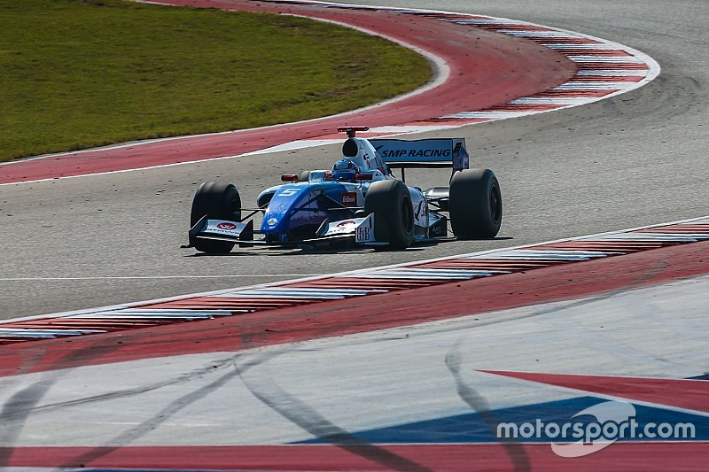 Austin F3.5: Orudzhev wins, drama for title rivals