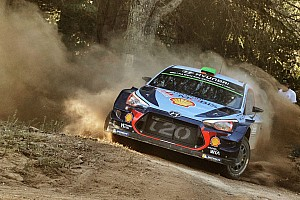 WRC Son dakika Paddon, yaptığı