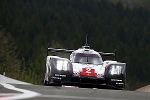 WEC Réactions Porsche a lutté contre les éléments à Spa