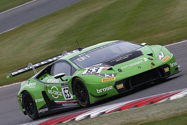 Blancpain Sprint Engelhart and Bortolotti win for Lamborghini at Brands