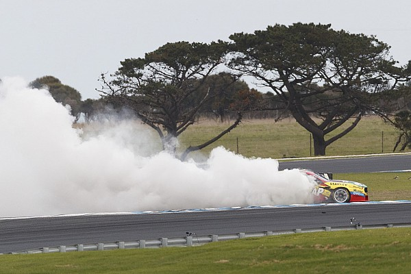 Mostert fined $3000 for victory burnout