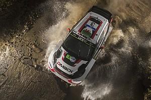 WRC Actualités Déjà une pénalité de cinq minutes pour Evans