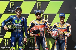 MotoGP Qualifying report Brno MotoGP: Marquez beats Rossi to pole by 0.092s