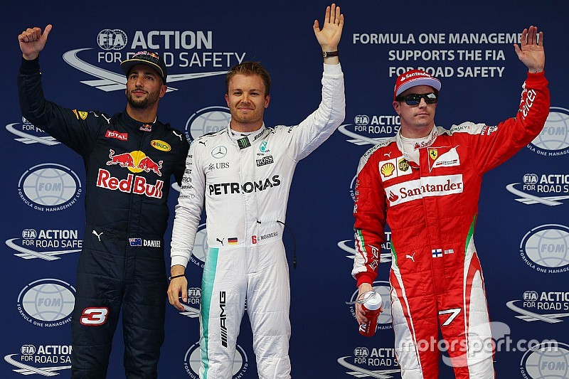 Pole y triple premio para Nico Rosberg en China