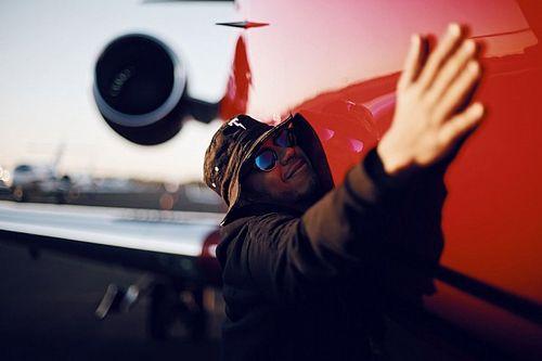 El jet privado de Hamilton, otra vez a la venta