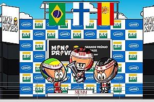 Fórmula 1 Artículo especial Vídeo: Raikkonen, campeón en Brasil ante Hamilton-Alonso (por MiniDrivers)