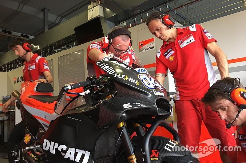 Довіціозо не зміг обрати найкращий обтічник для мотоцикла Ducati