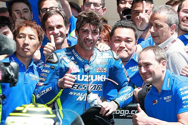 """MotoGP Breaking news Iannone was """"about to explode"""" before Austin podium"""