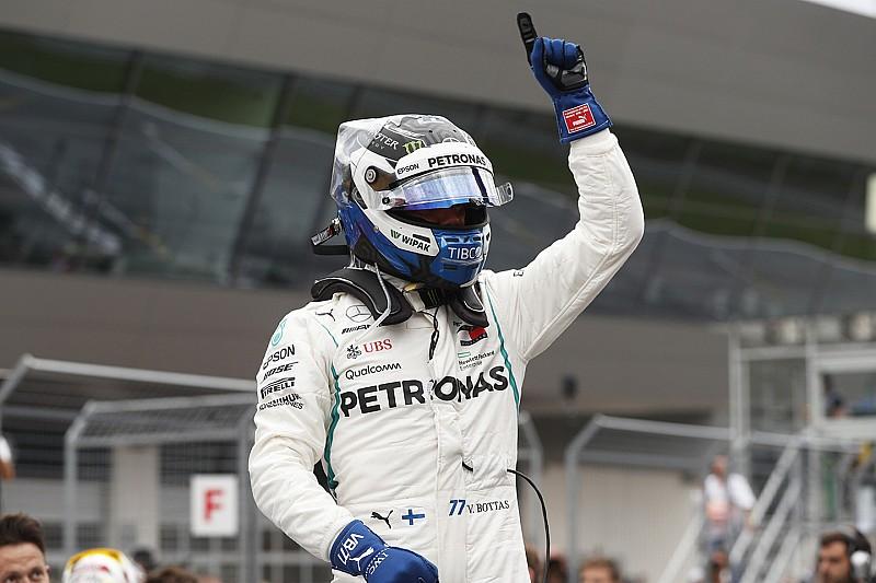 オーストリア予選:ボッタス、コースレコード更新で今季初PP獲得