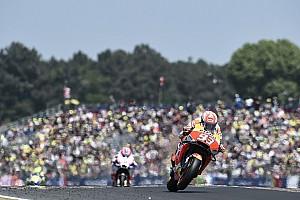 """MotoGP 速報ニュース マルケス、FP3の転倒に""""救われる""""「あの転倒以降は慎重になっていた」"""