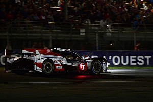 Le Mans Race report Le Mans 24h: Alonso chases lead #7 Toyota at halfway point