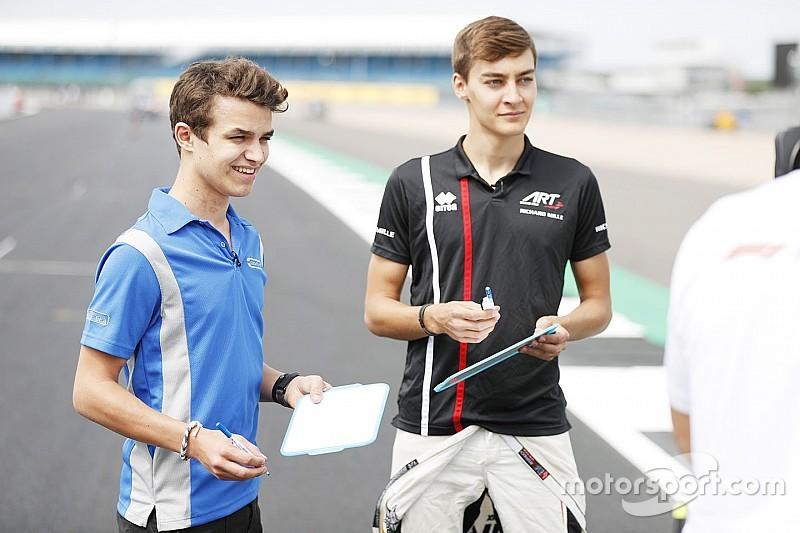 Russell : L'arrivée de Norris en F1 m'a aidé à négocier la mienne