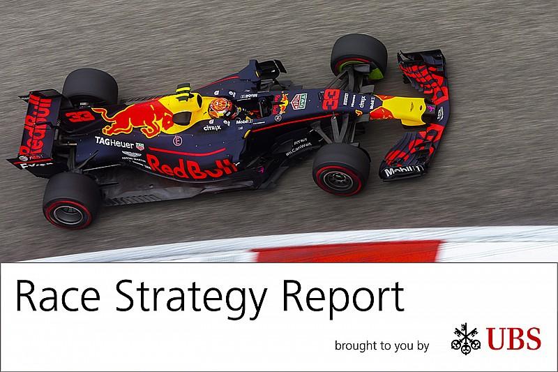 Report strategie: la rimonta di Verstappen ha imposto la reazione Ferrari