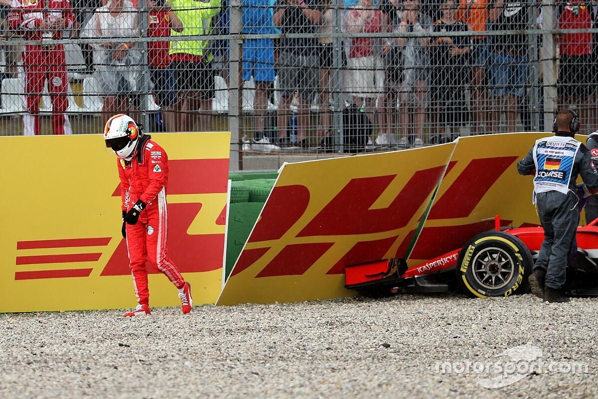 Rosberg : Vettel a tout gâché en attaquant trop