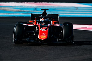 FIA F2 Testing report Mercedes reserve Russell tops final day of Paul Ricard F2 test