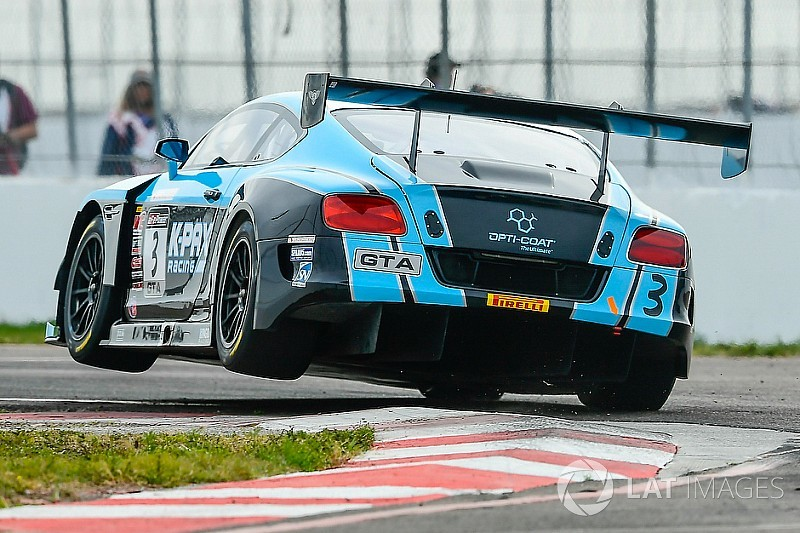 VIR PWC: Joy and despair for K-PAX Bentley in GT SprintX Race 1