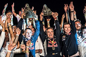 Galería: así volvió a la gloria Sainz ocho años después