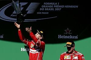 F1 Noticias de última hora Vettel, aliviado con su primera victoria desde el verano