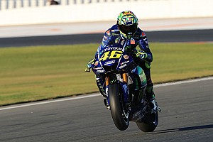 MotoGP Reaktion Ereignisreicher Test für Rossi: