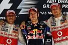 Формула 1 Галерея: усі призери Гран Прі Абу-Дабі